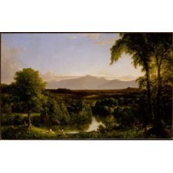 В Нью-Йорке пройдет выставка работ художника XIX века Томаса Коула