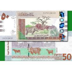 В Судане из денежного обращения исчезнут банкноты номиналом 50 фунтов