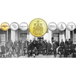 В Канаде столетняя серия монет 1967 года переиздана в качестве новых юбилейных монет 2017 года
