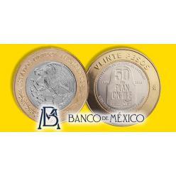 В Мексике выпустили монету к юбилею Указа о расширении полномочий Министерства Национальной обороны
