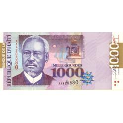 На Гаити выпущены обновленные купюры
