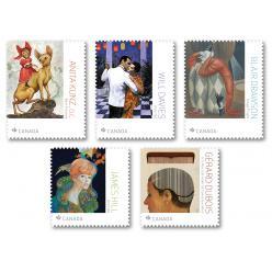 Сегодня в Канаде выпущены марки в честь иллюстраторов страны
