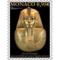 Марка с изображением фараона выпущена в Монако