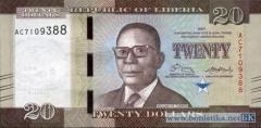 В Либерии эмиссированны обновленные купюры