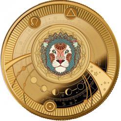  В Польше отчеканена монета в честь зодиакального льва