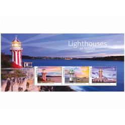 В Австралии представили почтовые марки, на которых изображены маяки