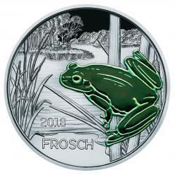 В Австрии выпустили монету, которая светится в темноте