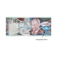 В Барбадосе выпущены в обращение бракованные банкноты