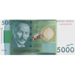 В Киргизии выпущены в обращение модифицированные банкноты номиналом 20 и 5000 сом