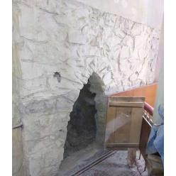 На Винничине обнаружен декоративный камин 19 века