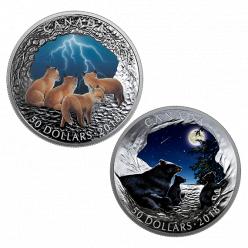 Монету, светящуюся в темноте, отчеканят в Канаде