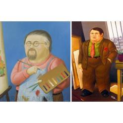 Во Франции стартовала долгожданная выставка «Ботеро: Диалог с Пикассо»