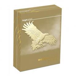  В Австралии поступили в продажу золотые монеты с изображением клинохвостого орла