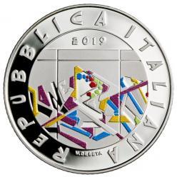 В Италии представили цветную монету в честь падения Берлинской стены