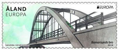 У Фінляндії випущена марка, присвячена арочному мосту