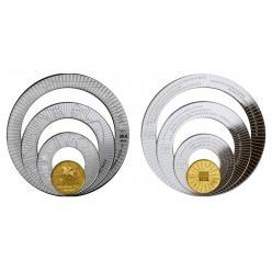 В Литве выпущены монеты оригинальной формы