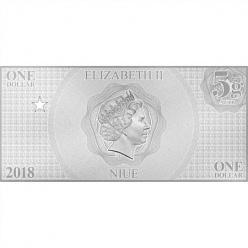 В Зеландии отпечатаны серебряные банкноты с Акваменом и Киборгом