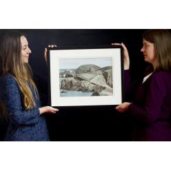 Редкая акварельная работа живописца Макинтоша выставлена на торги