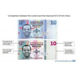 В Свазиленде модернизировали одну из банкнот