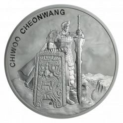  В Южной Корее выпущены монеты в честь Чивы