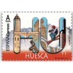  Символы провинции Уэска представлены на новой марке Испании