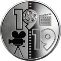 Нацбанк Украины объявил о начале приема on - line заказов на новую монету «100 лет Одесской киностудии»