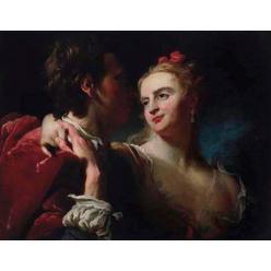 В Украину вернется картина Пьера Луи Гудра «Влюбленная пара», украденная нацистами во время Второй мировой