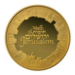 В Израиле отчеканены памятные монеты в честь Стен Иерусалима