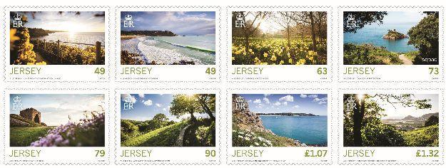 Jersey Post выпустила марки, посвященные весне