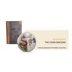 В Новой Зеландии представлена монета, на которой изображены четыре дракона
