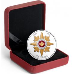 В Канаде выпущена серебряная монета «Звезда военной доблести»