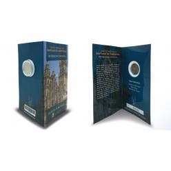 В Испании выпущена монета, посвященная старому городу Сантьяго-де-Компостелы