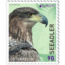 Австрия представила почтовую марку с логотипом EUROPA