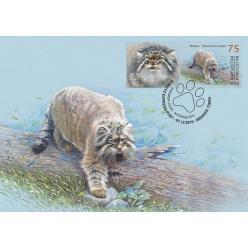 В Кыргызстане представили марки с изображением животных из Красной книги