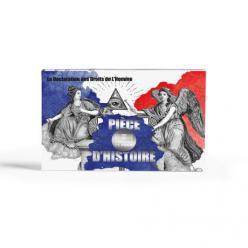 Во Франции представили цветную монету на тему прав человека