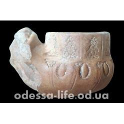 В Одессе найдена османская курительная трубка ХVІІІ века