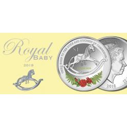 Монету в честь новорожденного принца Луи отчеканили в Новой Зеландии