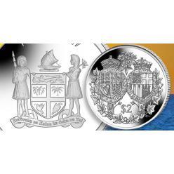Остров Фиджи посвятил памятную монету в честь 70-летия брака королевы Елизаветы и принца Филиппа