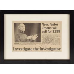 Резюме с ошибками Стива Джобса выставят на аукцион