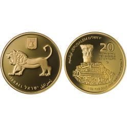 Очередная монета из серии «Золото Иерусалима» выпущена в Израиле