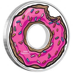 В Австралии отчеканена монета, напоминающая пончик