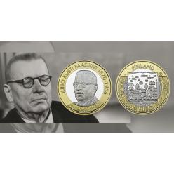 В Финляндии вышла последняя монета из серии «Президенты»