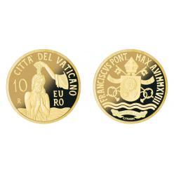 Ватикан представил памятную монету «Крещение»