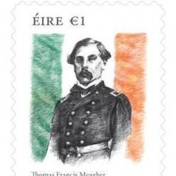 В Ирландии посвятили почтовую марку автору национального триколора