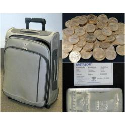 В Великобритании нашли чемодан с золотом