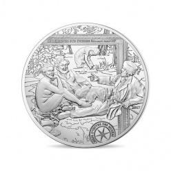 На монете Франции изображена картина Эдуарда Мане «Завтрак на траве»