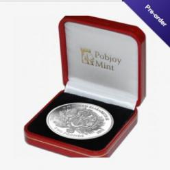 Pobjoy представил монету к сапфировому юбилею Елизаветы II