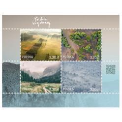 В Польше выпущены марки с изображением пейзажей страны