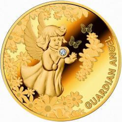 В Польше представили монету-талисман «Ангел-хранитель»