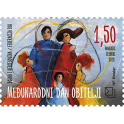 Босния и Герцеговина выпустила марки в честь Дня семьи